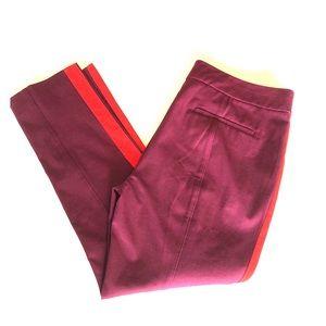 NWOT Anthropologie slim cut tuxedo pants